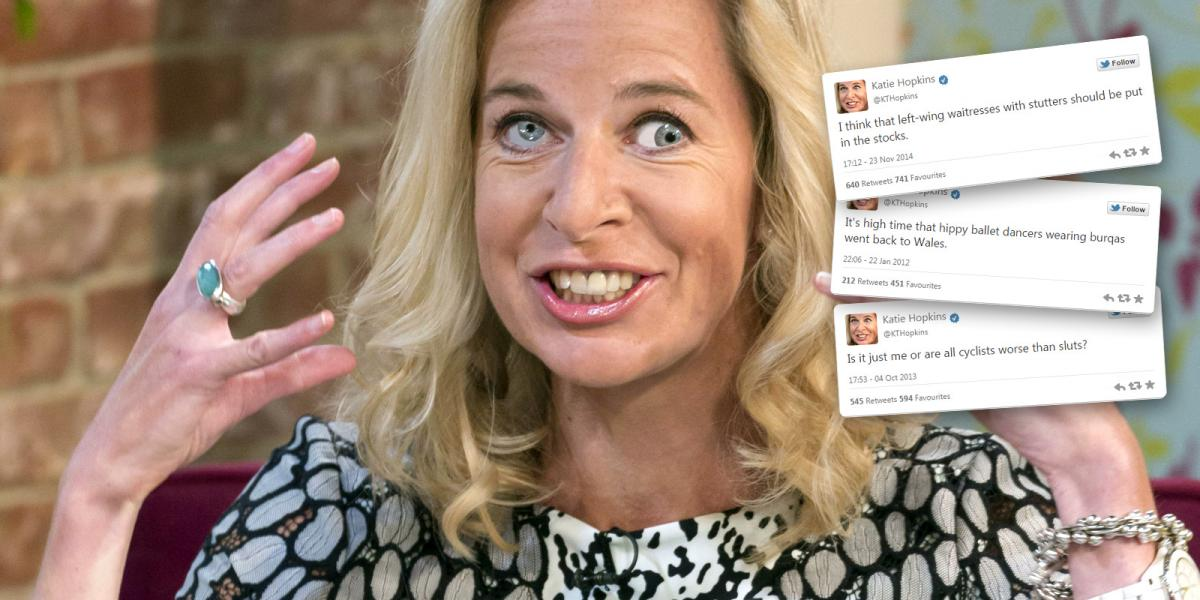 Katie Hopkins Random Tweet Generator